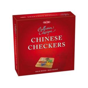 Tactic Games Chinese Checkers - Collection Classique.