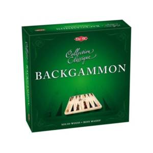 Tactic Games Backgammon - Collection Classique.