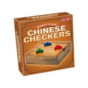 Tactic Games Chinese Checkers - Wooden Classic Edition.