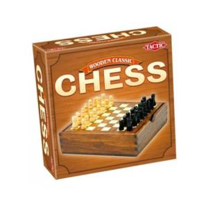 Tactic Games Chess - Wooden Classic Edition.