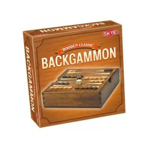 Tactic Games Backgammon - Wooden Classic Edition.