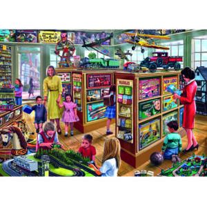 Gibsons The Toy Shop Jigsaw