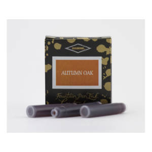 Diamine Universal Ink Cartridge - Autumn Oak