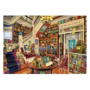 Wentworth Wooden Jigsaws Wish Upon a Bookshop