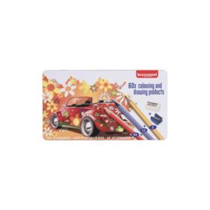 Bruynzeel Colouring Pencil Set 60ct