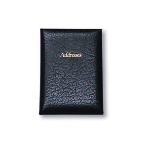 Cathian Medium Bureau Style Address Book