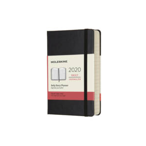 Moleskine 12 Month Classic Daily Diary - Hard Cover 2019