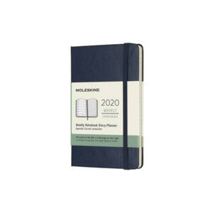 Moleskine 12 Month Classic Weekly Notebook Diary - Hard Cover 2019