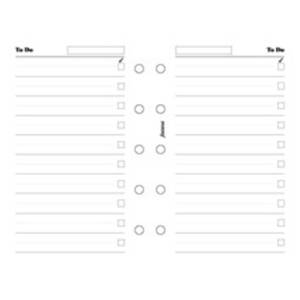 Filofax To-Do Inserts
