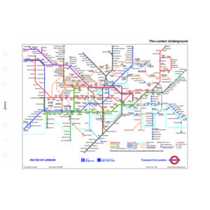Filofax London Underground Map