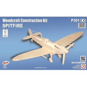 Quay Spitfire Woodcraft Construction Kit.