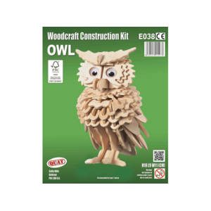 Quay Owl Woodcraft Construction Kit.