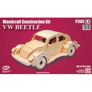 Quay VW Beetle Woodcraft Construction Kit.