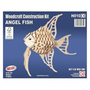 Quay Angel Fish Woodcraft Construction Kit.