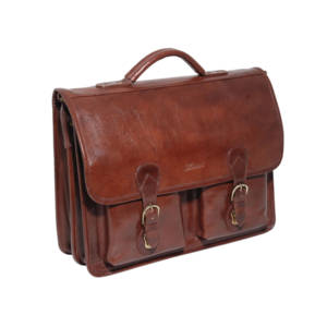 Ashwood Leather Chelsea 8190 - Laptop Compatible Briefcase.