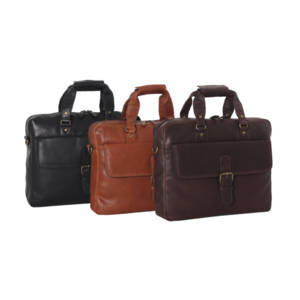 Ashwood Leather Heritage 8683 - Laptop Briefcase.