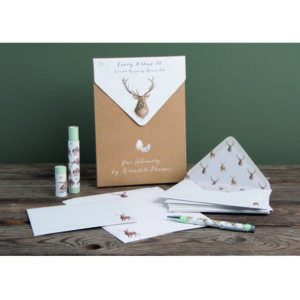 Wrendale Luxury Letter Writing Set - 'Wild At Heart'
