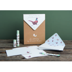 Wrendale Luxury Letter Writing Set - 'Game Bird'
