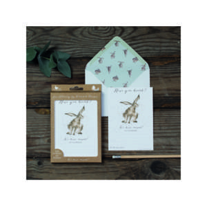 Wrendale Luxury Notelet Set - 'Just To Say'
