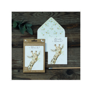 Wrendale Luxury Notelet Set - 'Thanks a Bunch'