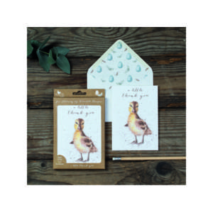 Wrendale Luxury Notelet Set - 'A Little Thank You'