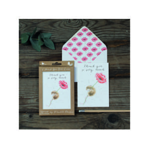 Wrendale Luxury Notelet Set - 'Thank you so very much'