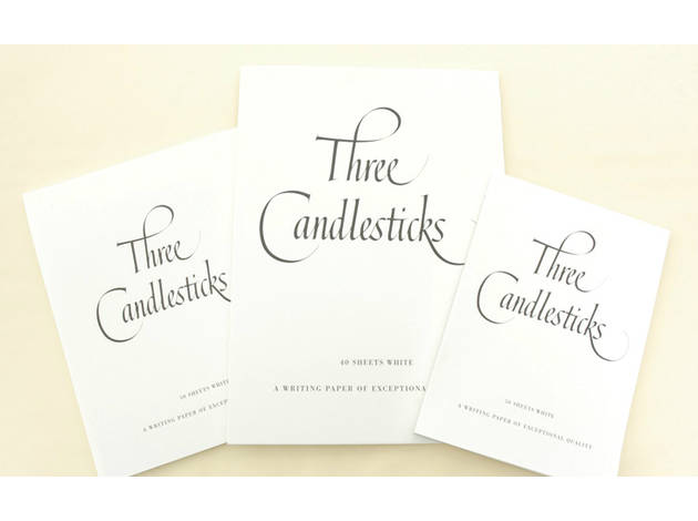 Three Candlesticks Writing Paper & Envelopes